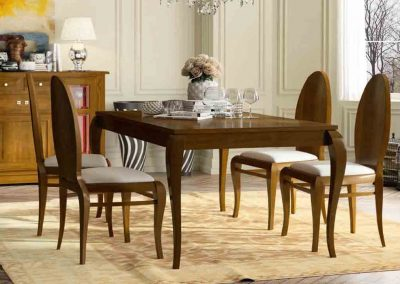 mesas de comedor clásicas