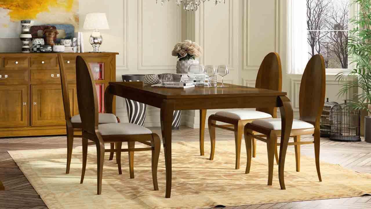 Mesas de comedor clásicas | Muebles y decoración en Arganda del Rey